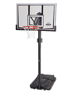 Spalding NBA Portable Basketball System with 60″ Acrylic Backboard Review 9be24149d